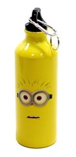Squeeze Minions Aluminio Térmico Amarelo 500 Ml