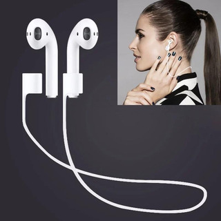 Banda Silicona Antiperdida AirPods/audifonos Bluetooth X6 U