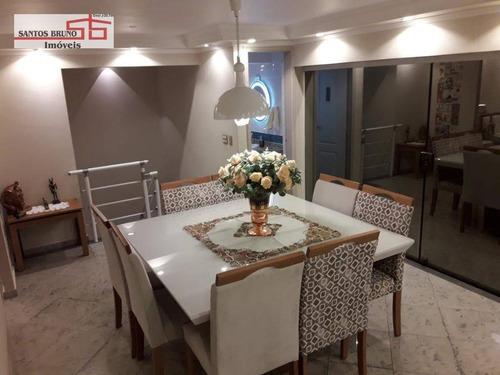 Imagem 1 de 22 de Cobertura À Venda, 167 M² Por R$ 1.250.000,00 - Casa Verde - São Paulo/sp - Co0040