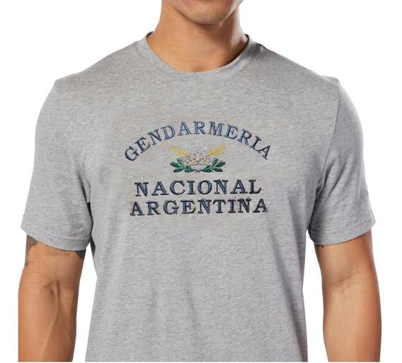 Remera De Gimnasia Verano Gendarmeria Nacional Argentina