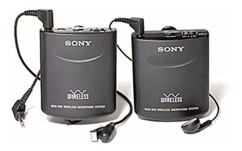 Microfone Lapela Para Camera E Filmadoras, Sony 999