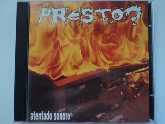 Cd-presto?:atentado Sonoro:punk,hardcore,rock