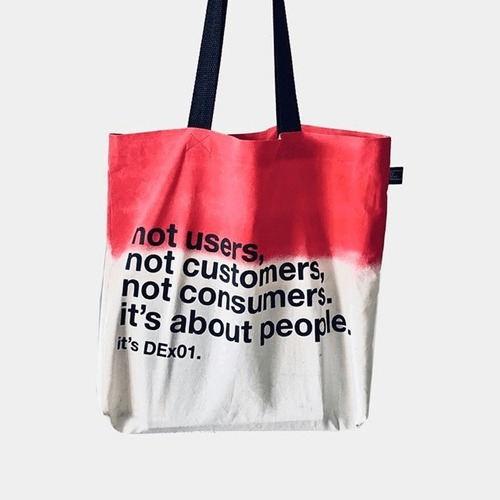 Ecobag It's About People ( Red )