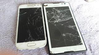 Celulares Sony Xperia E Samsun S4 Mini Sucata Barato