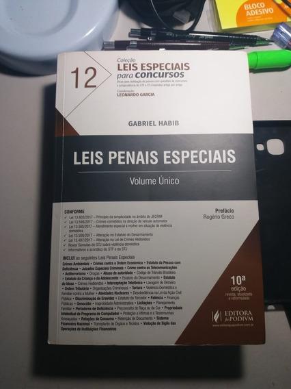 Leis Penais Especiais Para Concursos - Gabriel Habib 2018