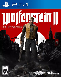 Wolfenstein 2 The New Colossus Ps4 Fisico Playking