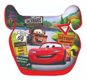 Butaca Niños Booster Sin Respaldo Disney Cars Mundo Manias