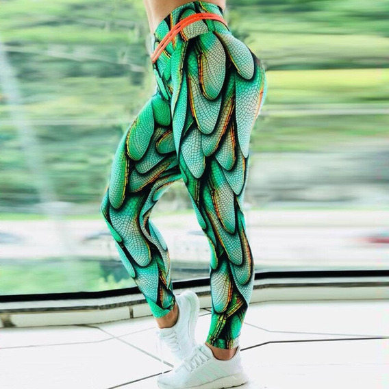 Leggins Deportivos 3d Colombianos Licra Gym Gymnasio Mayon