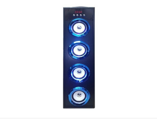 Parlante Portatil Bluetooth Torre 40w Luces C/envio Gratis