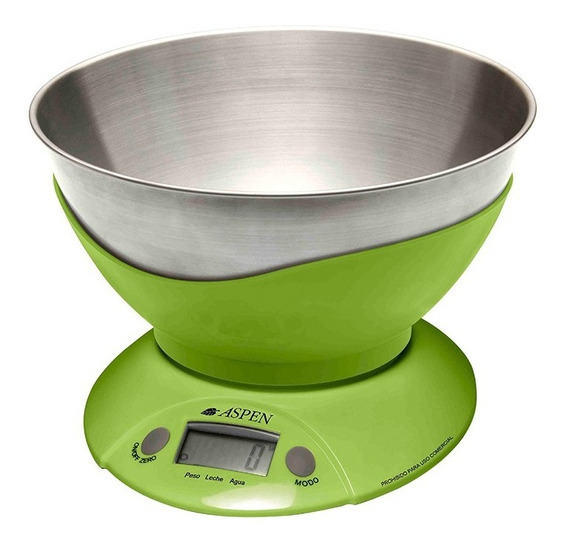 Balanza Aspen De Cocina Digital Ek 3555 3 Kgs Gtia Pc