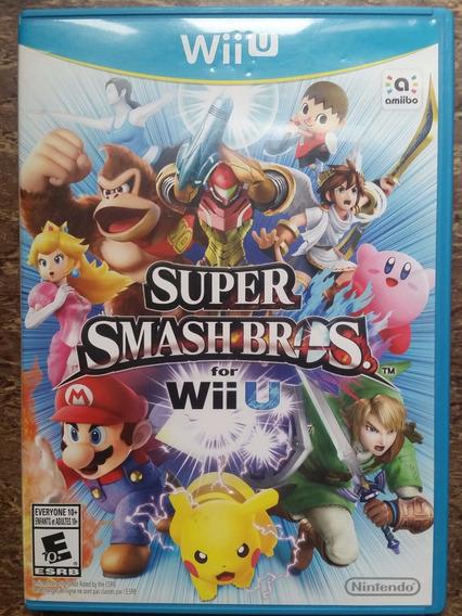 Super Smash Bros Nintendo Wiiu Original Ntsc-u