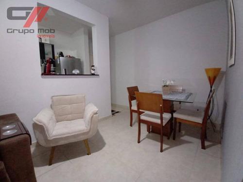 Imagem 1 de 9 de Apartamento Com 2 Dormitórios À Venda, 46 M² Por R$ 180.000,00 - Esplanada Independência - Taubaté/sp - Ap0245