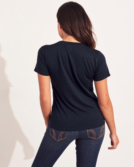 Remera Hollister California Mujer