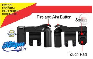 Gatilhos Kit7 Free Fire Para Celular L1r1 Pubg V3.0