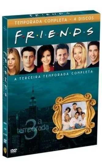 Box Friends 3º Terceira Temporada Completa 4 Dvds - Lacrado