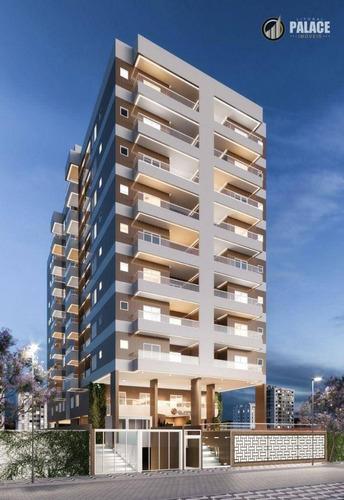 Imagem 1 de 30 de Apartamento Com 2 Dormitórios À Venda, 72 M² Por R$ 392.718,70 - Vila Guilhermina - Praia Grande/sp - Ap2981