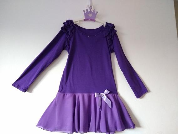 Vestido De Niña, Nena Fiesta Cumple Mangas Largas