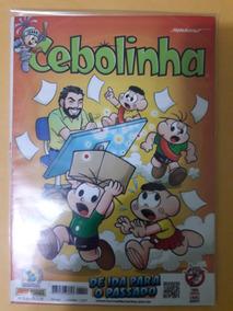 Revista Cebolinha N°22 - De Ida Para O Passado