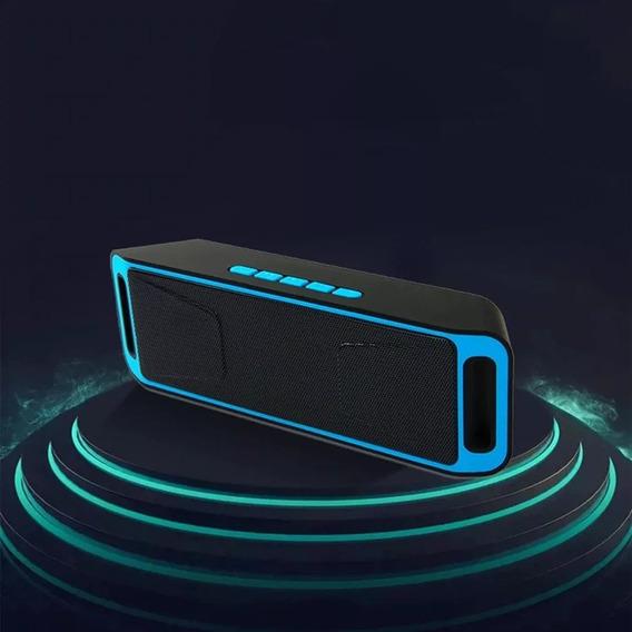 Caixa De Som Bluetooth Portatil Usb Microsd Radio Fm
