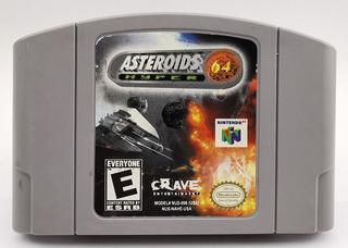 Asteroids Hyper 64 N64 Original * R G Gallery