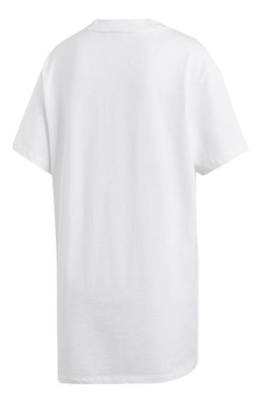 Remera adidas Originals Big Trifoil Blanco Mujer