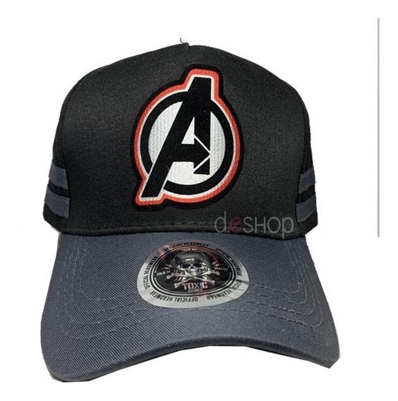 Gorra Dadivit Toxic Avengers Negra Curva Original