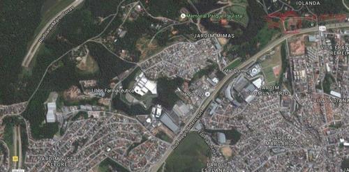 Terreno Para Venda Em Embu Das Artes, Jardim Mimas - Te0009_1-1009935