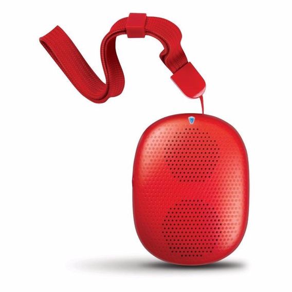 Caixa De Som Isound Popdrop Bluetooth - Vermelha