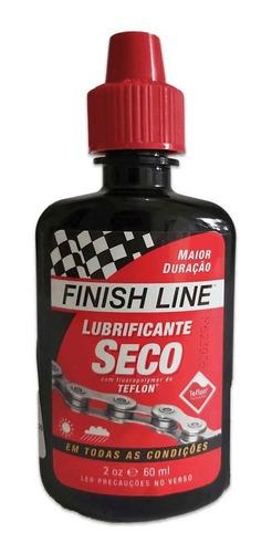 Óleo Lubrificante Finish Line Seco Dry 60ml Bike Mtb