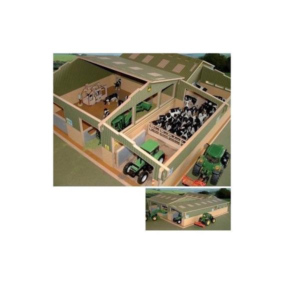 Brushwood Toy Farm Bt8600 Cubierto Recoge La Báscula De Pati