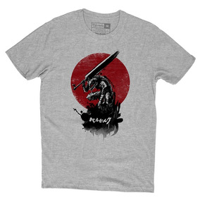 Camiseta Berserk Guts Camisa Personalizada Animes
