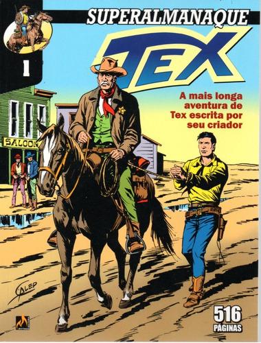 Superalmanaque Tex 1 Formato Italiano Mythos Bonellihq  X20
