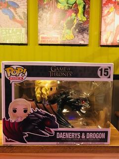 Funko Pop! Daenerys & Drogon #15 - Nuevo!