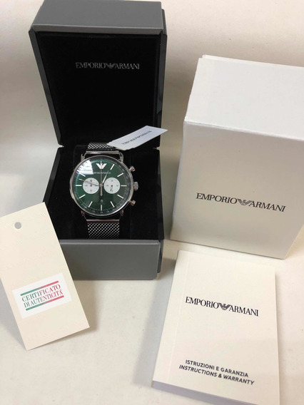 Relógio Emporio Armani Ar11221 C Caixa E Garantia Ea Novo