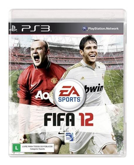 Fifa Soccer 12 Ps3, Mídia Física - Usado - A Pronta Entrega