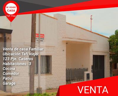 Tafí Viejo- Casa De 3 Dormitorio,cocina Y Más!