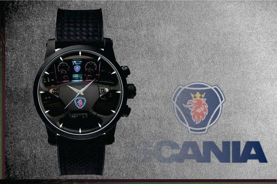 Relógio De Pulso Personalizado Painel Scania Caminhão Onibus