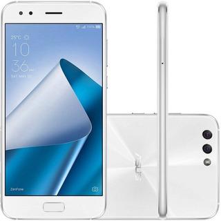 Smartphone Asus Zenfone 4 Ze554kl 4ram 64gb Lte Branco + Nfe