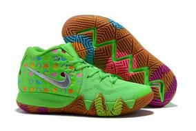 Tenis Nike Kyrie 4 Lucky Green Original Leia O Anúncio