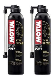 2 Unidades Reparador Pneus Motul P3 Tyre Repair Carro Moto