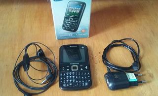Celular Samsung Chat 222 Plus / Carregador / Fone / Bom