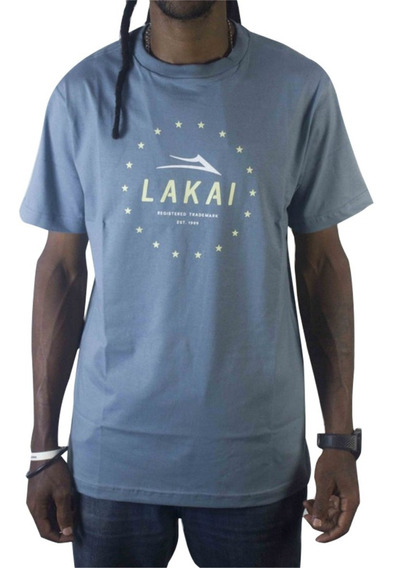 Camiseta Lakai Established - Indigo