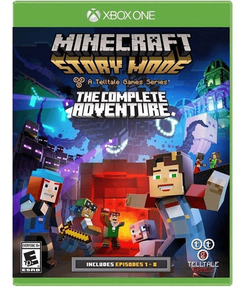 Minecraft: Story Mode The Complete Adventure - Xbox One