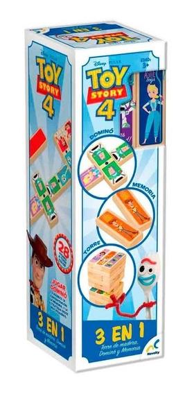 Torre De Madera 3 En 1 Toy Story 4