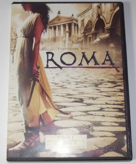 Dvd Roma Temporada 2 Disco 2 Em Espanhol Original Série Hbo