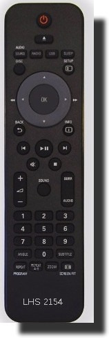 Controle H Theater Philips Hts3531 Hts3011 Hts3365 Hts3565