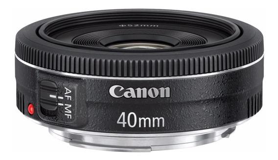Canon Ef 40mm F/2.8 Stm - Temos Loja Física