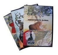 Coleção Ecologia 03 Dvds Original  + Brinde