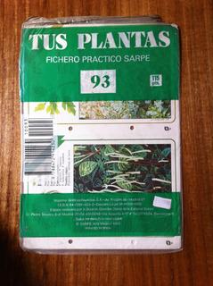 Tus Plantas Fichero Practico Sarpe Nº 93 Antiguo