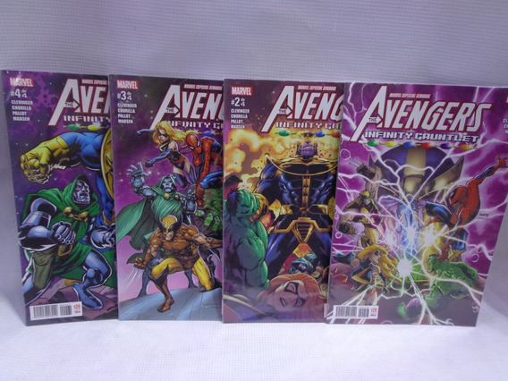 Avengers Guantelete Infinito Completo Marvel Semanal 2018